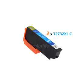 Wholesale Epson Cartridge Chips - 2 PCS of T2732 Cyan Inkjet Cartridge 273 compatible for xp610 xp810 etc. with chip and ink ,ready to use