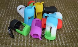 Wholesale Eliquid Case - Colorful Eliquid Bottles Soft Pouch Silicone Case Protective Case Fit Liquid Bottle E Cigarette Rubber Sleeve Protective Cover DHL Free