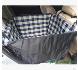 Wholesale Cradle Dog Car - seat cover Small dog cat car Car Cradle Pet seat cover Mat Blanket Cushion Protector waterproof bolsas perro