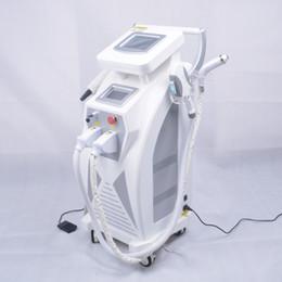 5 em 1 Multifunções Forte Energia OPT SHR IPL Depilação A Laser ND YAG Laser Máquina de Remoção de Tatuagem Da Beleza IPLRF ND YAGElight de