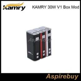 Wholesale Ecigarette Variable Battery - In Stock!Newest KAMRY 30W V1 Variable Wattage eCigarette 18650 battery mod Vaporizer VW Mod 7-30W Fit for 0.3-2.1ohm Atomizer