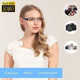 Wholesale Dc Spy Hidden Cameras - SPY 1080p HD Digital Video Hidden Camera Eyewear DVR Camcorder Eyeglass USB 2.0 DC-5V Black