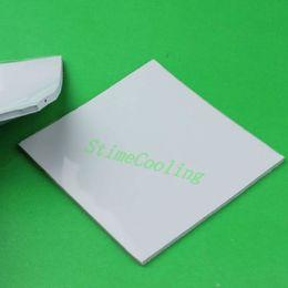 Wholesale Ic Set - Wholesale- 1pcs set 100X100x1MM White SMD DIP IC Chip Conduction Heatsink Thermal Compounds Pads