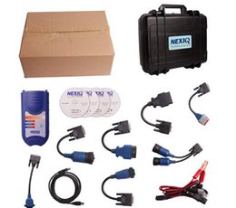 Wholesale Nexiq Software - 2014 top nexiq diagnostic tool NEXIQ 125032 USB Link + Software Diesel Truck Interface and Software free shipping
