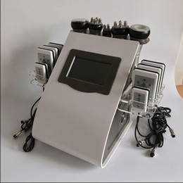 Wholesale Diode Laser Lipolysis - vacuum ultrasonic cavi lipo machine radio frequency anti cellulite machine laser lipolysis slimming system