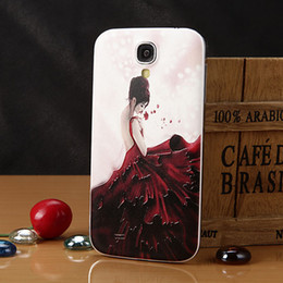 Wholesale Galaxy S4 S Iv - Red dress Hard Case Cover Shell for Samsung Galaxy S4 S IV i9500 i9508 i959