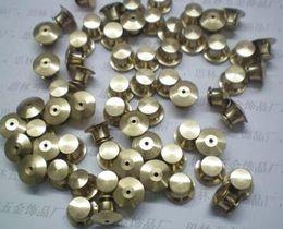 Wholesale Locking Pin Backs Wholesale - 1000pcs per lot no tools need Locking Pin Backs silverbaged for disney pins