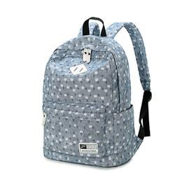 965c16ff1c08 2017 Canvas Women Backpacks School Bags for Teenagers Girls Bolsas  Femininas printing Laptop Travel Bags Middle School Students