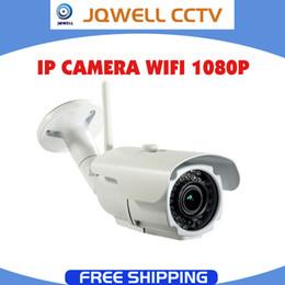 Wholesale Wireless Outdoor Security Web Camera - Varifocal 2mp IP Camera 1080p HD CCTV outdoor ip cam wireless IR weatherproof infrared ONVIF security video wifi web bullet IPC