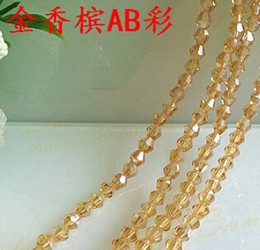 Wholesale 6mm Glass Crystal Bicone - Fashion wholesale 80PCS 6MM Bicone Crystal AB Color Beads Glass Bead Loose Spacer Bead for DIY bracelet necklace Jewelry Making