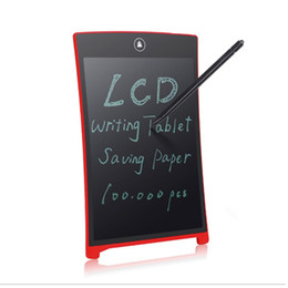 "Wholesale Mini Pad Pen - 8.5"" Writing Tablet LCD Tablet Drawing Pen Mini Writing Message Board Handwriting Pads as Whiteboard Bulletin Board Memo Board"