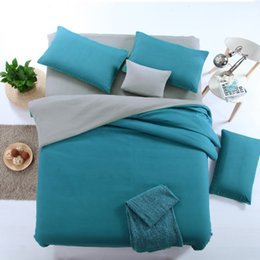 Wholesale Microfiber Quilt - Fashion Bedding Cover Sets Solid Color Three Piece Cover Set 10 Color 2 meter bed quilt Sets Home Textiles Direct Factory Price