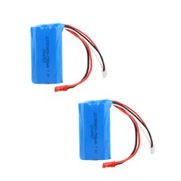 Wholesale Battery Toy Helicopter - 2Pcs 7.4V 1500mAh Rechargeable Li Battery for Double Horse 9118 MJX T23 F45 RC Helicopter Toys order<$18no track