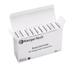 Wholesale Evod Coil Head Only - Kanger tech Dual Coil Head only for mini protank 3 Aerotank TD3 EVOD 2 protank3 EGO Atomizer Cartomizer pro tank core unit
