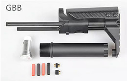 Wholesale Stock For M4 - HOT SELL New Arrival Tactical PDW Stock For AR15 M4 GBB AEG System Version Aluminuma&carbon fibre free shipping