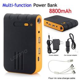 Wholesale External Battery Ipad Mini - Jump Starter Mini EPS JS-B001 8800mAh Multi-Function External Emergency Power Bank Battery Charger For iPad Phone Car Start PC