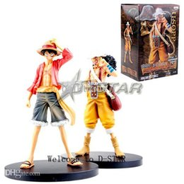 Wholesale Luffy Years After - Wholesale-Free Shipping One Piece Luffy & Usopp After 2 Years PVC Action Figure Collection Model Toy