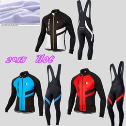 Wholesale Green Cycling Jersey Bibs - Wholesale-2015 Etxeondo Winter Thermal Fleece Cycling Clothing Winter Fleece Cycling Jersey And Bib Pants Bicycle Clothing #H56H