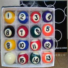 Wholesale Mini Pool Balls - Wholesale- 25.4MM 1 inch Mini Children America pocket pool Billiards