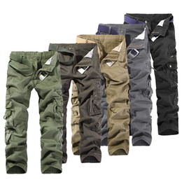 Wholesale Camo Mens Cargo Pants - New 2015 CHRISTMAS NEW MENS CASUAL MILITARY ARMY CARGO CAMO COMBAT WORK PANTS TROUSERS SIZE 28-38 #3799