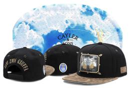 Wholesale cap snapback asap - Headwear cayler sons Snapbacks Caps flat brim ASAP black ajustable baseball snapback hats and caps men women hiphop cap