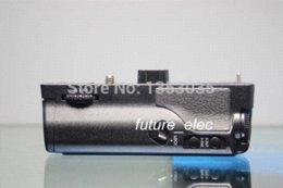 Wholesale Em1 Battery - Battery Hand Handle Grip Holder Pack Vertical Power Shutter For Olympus OM-D E-M1 OMD EM1 Camera as HLD-7 +2 x BLN-1+Car Charger
