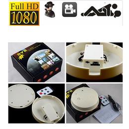Wholesale Smoke Detector Video Recorder - Mini HD DVR SPY Hidden Camera Smoke Detector Motion Detection Video Recorder Cam Mini CCTV Lens