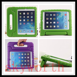 Wholesale Amazon Ipad Covers - EVA Handle Shockproof Case Cover For ipad pro 9.7 air 2 mini Samsung Galaxy tab A S2 7 10'1 T580 T560 T280