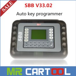 Wholesale Hot Audi Cars - DHL Free 2015 Hot Sale Universal Silca SBB Key Programmer V33.02   V33 For Multi-Cars SBB Auto Key Maker By Immobilizer No Token