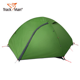 Wholesale Double Layer Tents - Wholesale- Trackman Outdoor Tent Ultralight 2 Person Camping Tents 3 Season Waterproof Double Layers Picnic Hiking Tents