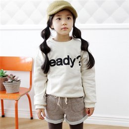 Wholesale Family Sweatshirts - Wholesale-Letter Print Sweatshirt Family Clothes for Mother and Daughter and Son Girls Boys Women Sweatshirts (Colors: Beige, Fushia )NK41