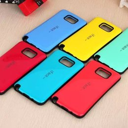 Wholesale New Case Galaxy S3 - New iface Case Candy Color Back Cover Full Protective For iPhone 6 6S Plus iPhone 5S 5C iPhone 4 4S Samsung Galaxy Note 5 4 S5 S4 S3