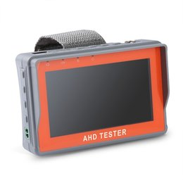 Wholesale Ptz Tester - ANNKE 4.3 Inch HD AHD CCTV Tester Monitor AHD 1080P Analog Camera PTZ UTP Cable Tester 12V1A Output