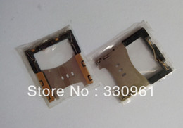 Wholesale Sim Card Tray Holder 3g - Wholesale-20pcs lot,sim card reader holder solt tray for iphone 3gs 3g HK post free shipping