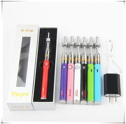 Wholesale Ego Vapor Twist - UGO Twist K9 eGo Voltage Control Vaporizer Kit Electronic Pen E Vapor New Vape 650 900Mah Premium USB Charger
