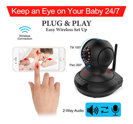Wholesale Wifi Wireless Security Camera System - Surveillance Camera,Tepoinn FI368 Wireless WiFi IP Camera with 720P HD Pan Tilt and Two-Way Audio Night Vision Remote Security System