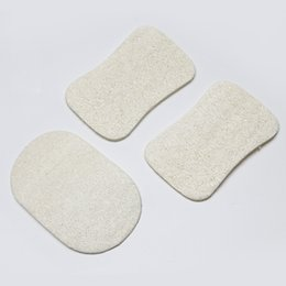 Wholesale Bath Flower Sponge - Natural Loofah Dish Brush Loofah Pad Back Scrubber Face Makeup Remove Exfoliating and Dead Skin Bath Shower Loofah for Home Tools