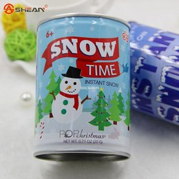 Wholesale Fake Snow Decorations - fake snow, Instant Snow, Artificial Snow,Funny Christmas Gifts or Valentines' Day Decoration DIY