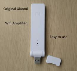 Wholesale Wireless Expander - Special Offer 100% Original Xiaomi Wifi Amplifier WIFI Wireless Wifi Expander Wifi Roteador Signal Amplifier Repetidor