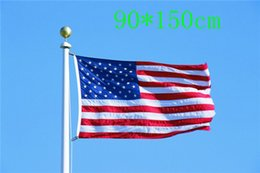 Wholesale France Wholesalers - DHL Free shipping 3x5 foot feet 90*150cm Polyester France USA UK Germany Canada Spain Australia Sweden Mexico Netherlands flags banner Flag