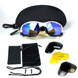 582722be6b Sport Sunglasses UV400 Bicycle Cycling Eyewear Glasses 3 Lens Sporting Sun  Glasses Goggles for Outdoor