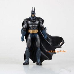 Wholesale Batman Dark Knight Figure - Free Shipping Batman 2 pieces of Action Figures The Dark Knight Returns Batman Dolls PVC ACGN figure Toys Brinquedos Anime 18CM
