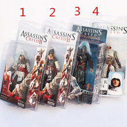 Wholesale Assassins Creed Figures - High Quality NECA Toys ASSASSINS CREED PVC Action Figures( 4pc set) 7inch Model