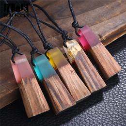 Holzketten 5 Stück Kleidung & Accessoires