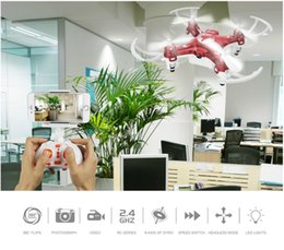 Wholesale Toy Remote Control Drones - Camera Drones 2.4G fascinating Quadcopter WIFI FPV Live View Tape Conveyor Remote Control Aircraft Toy Free Shipping