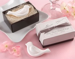 Wholesale Dove Bath - 20pcs Love Dove Scented Soap For Wedding Party Birthday Souvenirs Gift Favor New