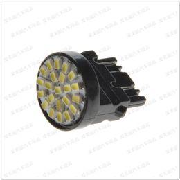 Wholesale 3157 Red White Led - Wholesale 100pcs 7440 7443 3156 3157 22LED 1206 22 smd Turning Lamp Tail Light Brake Lamp Signal Reverse Light