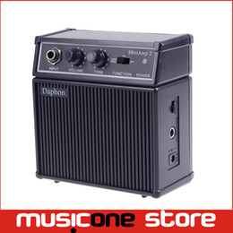 Wholesale Amps Electric - New Daphon Mini AMP 2 3W Electric Gutiar AMP Portable with Belt Clip Free shipping MU0488