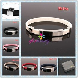 Wholesale Power Titanium Ionic Magnetic Bracelet - Power Titanium Ionic Magnetic Bracelet Power Energy And Balance Portable Hot Selling Easy To Carry 2pcs