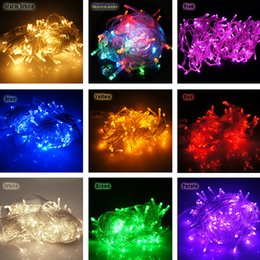 Wholesale Outdoor Festival String Lights - 50 LED 5M 16.4Feet Led String Light 3XAA Battery Operated LED Strings Mini Fairy Lights Festival String Party Light Waterproof Outdoor Light